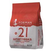 Шпатлевка гипсовая финишная FORMAN №21 (5 кг)