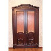 Двери резные фото