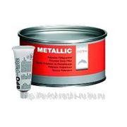 Carsystem Полиэфирная шпатлевка с алюминиевым наполнителем Metallic (1.0 кг) фото