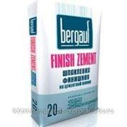 """Шпатлевка цементная финишная """"Bergauf Finish Zement"""", 20 кг фото"""