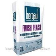 """Шпатлевка полимерная финишная """"Bergauf Finish Plast"""", 20 кг фото"""