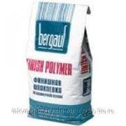 """Шпатлевка полимерная финишная """"Bergauf Finish Polymer"""", 5 кг фото"""