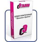 Клей плиточный Эталон-Optima (25 кг) фото
