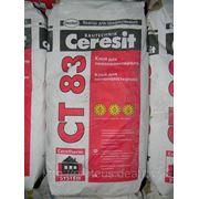 Ceresit CT 83 — клей фасадный для приклейки пенопласта / пеноплекса фото