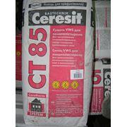 CERESIT CT-85 «зима» — клей фасадный (приклейка + армировка) фото