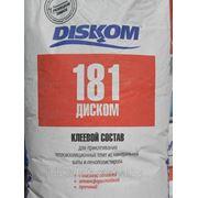 Диском 181 - клей фасадный ТОЛЬКО для приклейки утеплителя, 25 кг фото