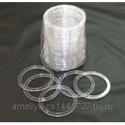 Термокольцо прозрачное 50мм фото