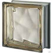 Стеклоблок окрашенный в массе Волна Metallised Siena VETROARREDO фото
