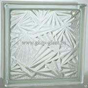 Стеклоблок бесцветный Мороз 190х190х80мм VITRABLOC фото