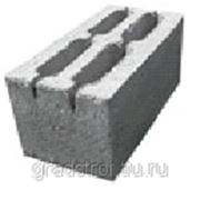 Блок пескоцементный 4-х щелевой