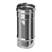Дымоход нержавеющий Ferrum 430/0.8 мм ф200 L=0.25м