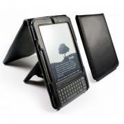 Кожаная обложка ручной работы для электронных книг, Traditional Leather case cover & stand for Amazon Kindle 3, купить, цена фото