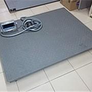 Весы платформенные (новинка) 1000*750 до 1 тонны фото