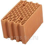 Блок крупноформатный керамический поризованный Porotherm 25 фото