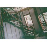 Лестница из бамбука фото