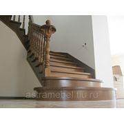 Лестницы деревянные на косоурах
