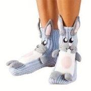 Носки для дома «ЗАЙЦЫ» фото