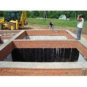 Фундамент с подвалом для дома 157