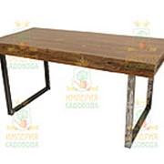 Стол из слэба/массива кедра, столешница 170х70х76см (Наш Кедр), 5375 фото