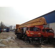 Автогидроподъемник ВС-28К на базе шасси автомобиля КамАЗ 53215