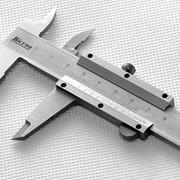 Штангенциркуль с отсчетом по нониусу ШЦ-1-100 0.05 paralax-free МИК фото