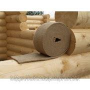 Межвенцовый утеплитель для деревянного дома фото