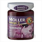 ВИТАМИНЫ Moller.Omega-3 Sydamelle 76х96гр. фото