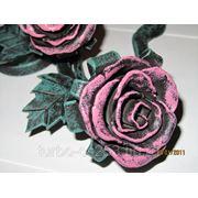 Кованные розы фото