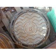 Люки чугунные легкие канализационные из серого чугуна ГОСТ 3634-99 фото