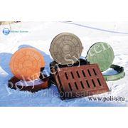 Люки и дождеприемники полимер-песчанные фото