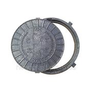 ПЭ ЛЮК для колодцев (1,5т) с замком, черный фото