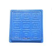 ПЭ ЛЮК квадратный 500х500 синий (1,5 т) фото