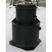 Жироотделитель 1 л/с для установки в грунт перед канализационным колодцем. фото