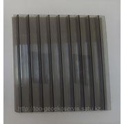 Сотовый поликарбонат, 6х2.1, бронза, толщина 10мм фото