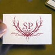 Изготовление визитных карточек, визитки недорого иркутск фото