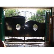 Металлические ворота Крым фото