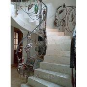 Кованные перила, лестницы фото