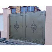 Ворота металлические Евпатория фото