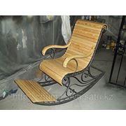 Кресло кованное фото