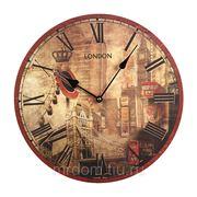 Часы настенные диаметр=35 см. (869577) фото