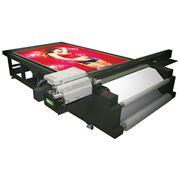 Широкоформатная UV печать на листовых твердых материалах фото