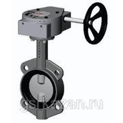 Затвор поворотный дисковый Ду300 Ру16 Бологое (БАЗ) редуктор
