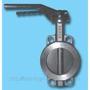 Заслонка поворотная баттерфляй Xurox Dn400 Pn 16 Type Metal/Metal фото