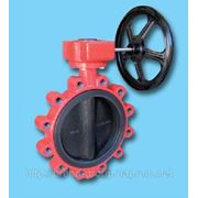 Затвор поворотный дисковый баттерфляй «Xurox» Испания Ду 125 Ру 16 фото