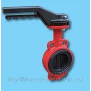 Заслонка поворотная баттерфляй «Xurox» Испания Dn 300 Pn 16 Type Wafer фото