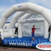 Фигура для рекламы Футбольные ворота Балтика фото