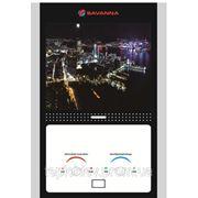 Газовый водонагреватель Savanna Night City LCD 10 литров фото