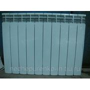 Радиатор отопления алюминиевый 500/80 10 секций. фото