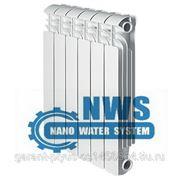 Биметаллический секционный радиатор отопления фото