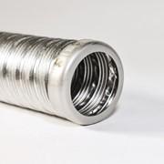 Труба выхлопная ( металлорукав с наконечником) фото